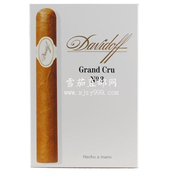 大卫杜夫格兰系列3号5支装 Davidoff Grand Cru Series Grand Cru No. 3 5-Pack 1/5