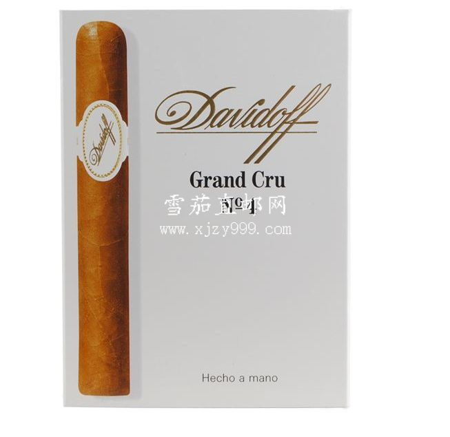 大卫杜夫格兰系列4号5支装 Davidoff Grand Cru Series Grand Cru No. 4 5-Pack 1/5