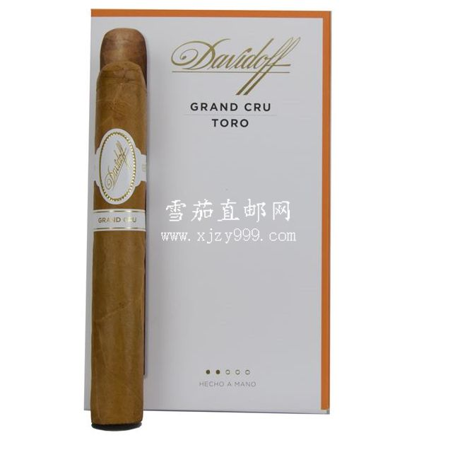 大卫杜夫格兰系列公牛4支装 Davidoff Grand Cru Series Grand Cru Toro 4-Pack 1/4